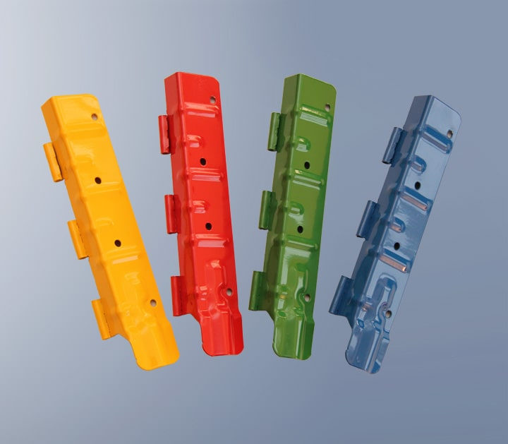 COLOURED FITTINGS